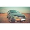 Дефлектор капота для Chevrolet Aveo SD 2003-2006/ HB 2003-2008 (VIP, CH01)