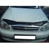 Дефлектор капота для Chevrolet Lanos 2005+ (VIP, CH07)