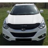 Дефлектор капота (короткий) для Hyundai ix35 2010+ (VIP, HYD26)