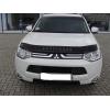 Дефлектор капота для Mitsubishi Outlander 2012+ (VIP, MSH25)