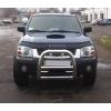 Дефлектор капота для Nissan NP300 2008+ (VIP, NS21)
