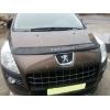 Дефлектор капота для Peugeot 3008 2011+ (VIP, PG16)