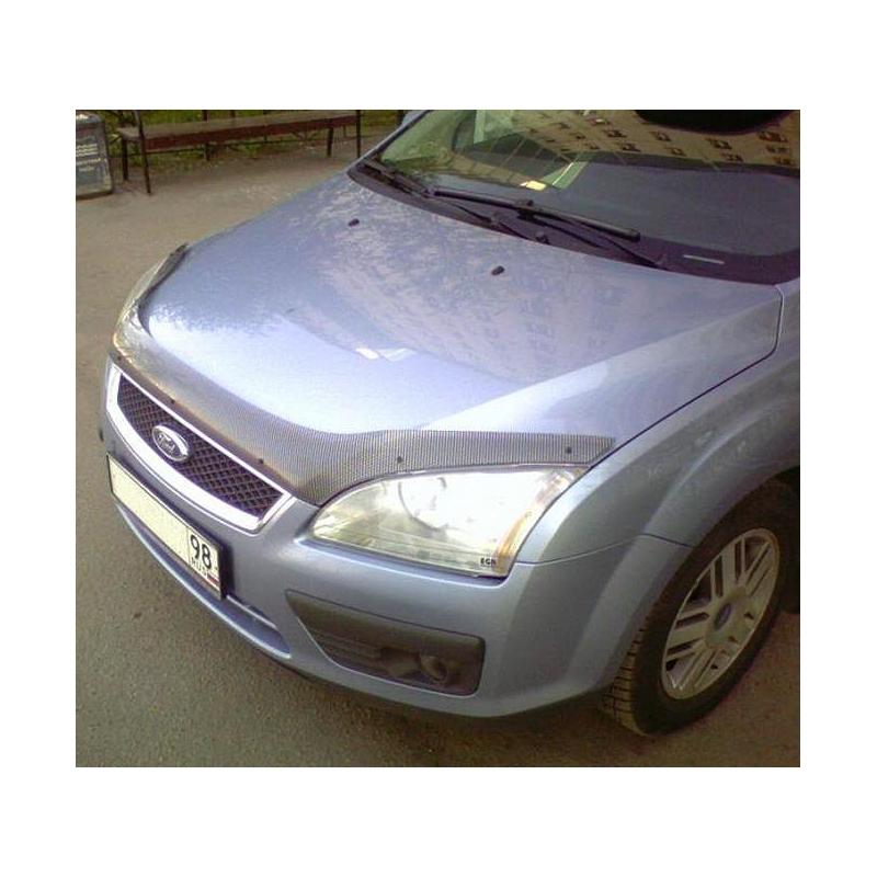 дефлектор капота для ford focus ii 2005-2008
