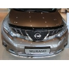 Дефлектор капота для Nissan Murano 2009-2015 (SIM, SNIMUR0912)