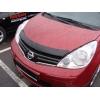Дефлектор капота для Nissan Note 2010-2013 (SIM, SNINOT1012)