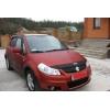 Дефлектор капота для Suzuki SX4/Fiat Sedici 2007-2013 (SIM, SSZSX40712)