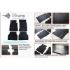 Коврики в салон (4 шт) для Geely Emgrand X7 2013+ (Stingray, 1025064)