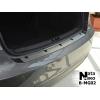 Накладка на задний бампер для MG 6 (4D) 2013+ (Nata-Niko, B-MG02)