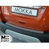 Накладка на задний бампер для Opel Mokka 2013+ (Nata-Niko, B-OP17)
