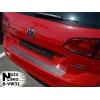 Накладка на задний бампер для Volkswagen Golf VII Variant 2012+ (Nata-Niko, B-VW31)