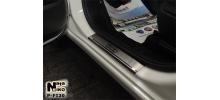 НАКЛАДКИ НА ПОРОГИ (4 ШТ.) ДЛЯ FIAT 500 L 2013+ (NATA-NIKO, P-FI20)