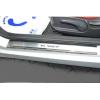 Накладки на пороги (3 шт.) для Hyundai Veloster 2012+ (Nata-Niko, P-HY19)