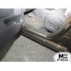 Накладки на внутренние пороги (4 шт.) для Kia Carens IV 2012+ (Nata-Niko, P-KI22)