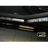 Накладки на внутренние (6 шт.) для Peugeot 408 (5D) 2012+ (Nata-Niko, P-PE23)