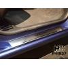 Накладки на внутренние пороги (4 шт.) для Renault Logan III/III MCV 2013+ (Nata-Niko, P-RE27)