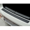 Накладка на задний бампер (карбон) для Hyundai i20 2010+ (Nata-Niko, B-HY09+k)