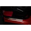 Накладки на внутренние пороги для Fiat Abarth 500 2008+ (Nata-Niko, P-FI19)