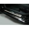 Накладки на внутренние пороги для Seat Ibiza IV (5D) 2008+ (Nata-Niko, P-SE12)