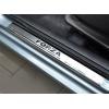 Накладки на внутренние пороги для Zaz Forza 2011+ (Nata-Niko, P-ZA01)