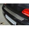 Накладка с загибом на задний бампер для BMW X1 (E84) 2009-2012 (NataNiko, Z-BM08)