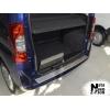 Накладка с загибом на задний бампер для Fiat Qubo 2008+ (NataNiko, Z-FI08)