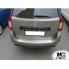 Накладка с загибом на задний бампер для Renault/Dacia Logan III MCV 2012+ (NataNiko, Z-RE11)