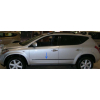 Молдинги на двери для Honda CRV 2009-2011 (Automotiva, AT.HDCRVSV09.F11)
