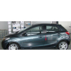 Молдинги на двери для Mazda 2 (HB) 2007-2010 (Automotiva, AT.MZD2HB07.F11)