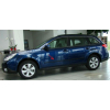 Молдинги на двери для Subaru Legacy 2009+ (Automotiva, AT.SBLGS09.F11)