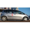 Молдинги на двери для Honda Jazz 2/Fit 2 (HB) 2008+ (Automotiva, AT.HDJZ1FI2HB08.F14)