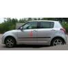 Молдинги на двери для Suzuki Swift (HB) 2005-2010 (Automotiva, AT.SUSWHB05.F14)