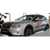 Молдинги на двери для Subaru XV Crosstrek/Impreza Sport 2012+ (Automotiva, AT.SBCSIPZSV12.F17)