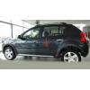 Молдинги на двери для Dacia Sandero mk1 Stepway 2008-2012 (Automotiva, AT.DCSDO1SV08.F3)