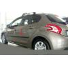 Молдинги на двери для Peugeot 208 (HB) 2012+ (Automotiva, AT.PG208HB12.F3)