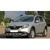 Защита переднего бампера (двойная, D60) для Renault Sandero Stepway 2013+ (ST-LINE, ST.RSS13.ST015/d60)