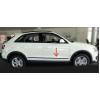 Молдинги на двери для Audi Q3 2011+ (Automotiva, AT.ADQ3SV11.F35)