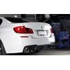 Задний спойлер (Cабля) для BMW 5-series (F10) 2009+ (DT, 10333)