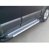 ПОРОГИ АЛЮМИНИЕВЫЕ ДЛЯ Hyundai Tucson 2004+ (ARP,ST AB007)