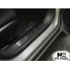 Накладка на внутренний пластик порогов для Chevrolet Cruze (4D/5D) 2008+ (NATA-NIKO, PV-CH05)