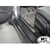 Накладка на внутренний пластик порогов для Hyundai Accent IV 2011+ (NATA-NIKO, PV-HY13)