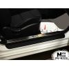Накладка на внутренний пластик порогов для Kia Cerato Koup II 2013+ (NATA-NIKO, PV-KI23)