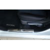 Накладка на внутренний пластик порогов для Nissan Micra IV (5D) 2010+ (NATA-NIKO, PV-NI11)