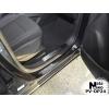 Накладка на внутренний пластик порогов для Opel Mokka 2013+ (NATA-NIKO, PV-OP24)