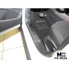 Накладка на внутренний пластик порогов для Peugeot 2008/208 (5D) 2013+ (NATA-NIKO, PV-PE26)