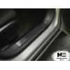 Накладка на внутренний пластик порогов для Toyota Corolla XI /Auris II 2013+ (NATA-NIKO, PV-TO30)