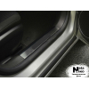 Накладка на внутренний пластик порогов для Toyota Highlander III 2013+ (NATA-NIKO, PV-TO31)