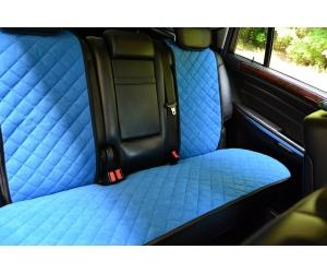 Накидки на сиденья автомобиля (задние, к-кт. 3 шт.) (AVTOРИТЕТ, blue)