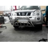 Защита передняя низкая с клыками D60 для Nissan X-Trail 2007-2009 (ARP, ST.WT.002)