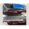 Накладки на передний и задний бамперы (Хром) для Mercedes GLK-Class 2012+ (Kindle, GLK-B31)