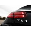 Эмблема (шильдик) для Mercedes S63 (DT, EMB003)